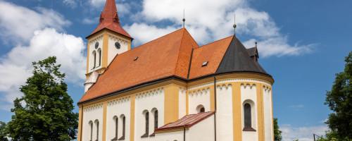 Kostel sv. Vavřince, Květná