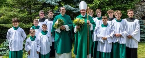 Návštěva apoštolského nuncia