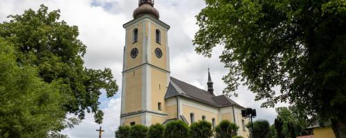 Kostel sv. Jiří, Pomezí