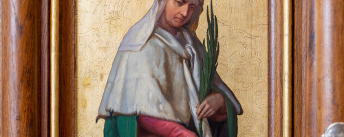 Kam zmizel obraz sv. Ludmily?